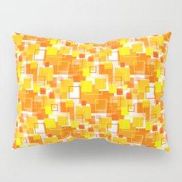 Mid-Century Modern - Orange Pillow Sham
