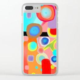 Bailamos Clear iPhone Case