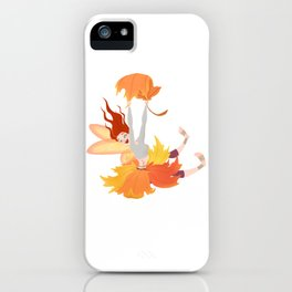 Fall Faerie iPhone Case