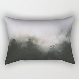 Into the Mist Rectangular Pillow