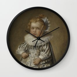 Portrait of Cornelis Cornelisz van Esch, anonymous (possibly), 1632 Wall Clock