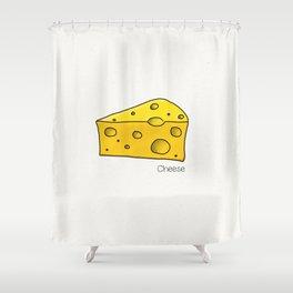 Cheese Shower Curtain