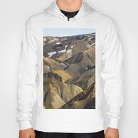 iceland Hoodies featuring ICELAND II by Gerard Puigmal