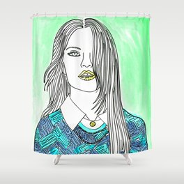 Stay Real Shower Curtain