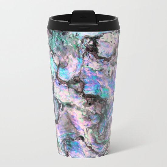 Iridescence #1 Metal Travel Mug