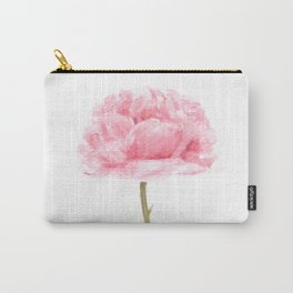 Watercolor rose print Carry-All Pouch