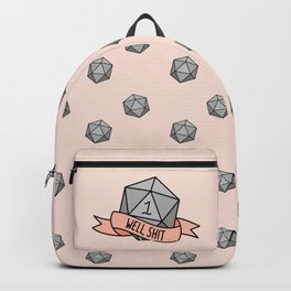 Well, Shit D20 Backpack