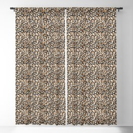 Leopard Print Blackout Curtain