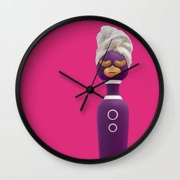 Self care wand Wall Clock