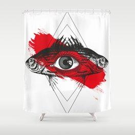 Nodus Mystical Shower Curtain