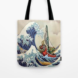 Great Wave -  Free Shipping - darkgamer - gamer clothing and accessories Tote Bag