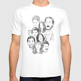 Parks and Recreation 'Rec a Sketch' T-shirt