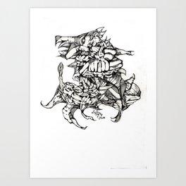 Complex Carcass Art Print