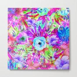 butterflies and hummingbirds,blossom Metal Print