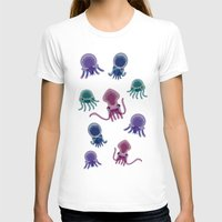 squid T-shirts featuring Squid by Steph Chen