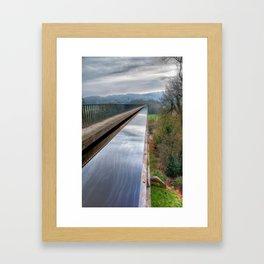 Llangollen Canal Framed Art Print