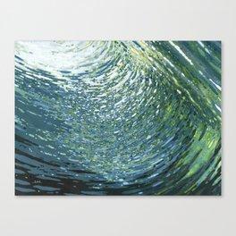 Underwater Movement Canvas Print