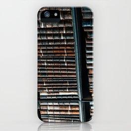bibliotheque iPhone Case