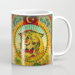 Tiger Fez Label Coffee Mug