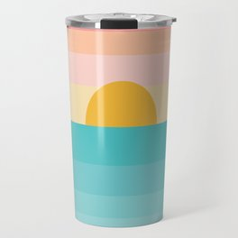 sunrise /sunset Travel Mug