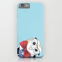 Dapper Owl iPhone Case