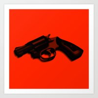 goodfellas Art Prints featuring Hammer and barrell by _JC_