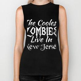 New Jersey The Coolest Zombies Biker Tank