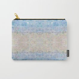 BOHEMIAN ICE STONE BLUE Carry-All Pouch