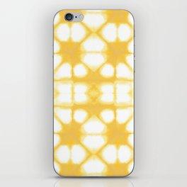 Shibori Ahi Yellow iPhone Skin