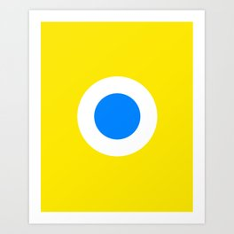 This is the Point, Yellow Pop Art Art Print