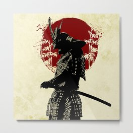 samurai redmoon Metal Print