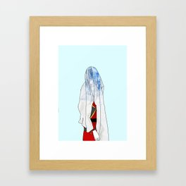 Blue Blood Framed Art Print