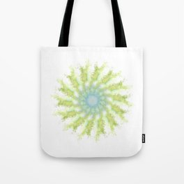 Birds, leaves and sky Tote Bag