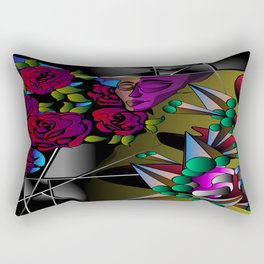 What's in your mind? Rectangular Pillow