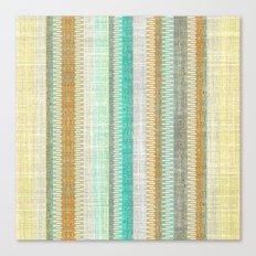 Vintage Tweed Stripe Canvas Print