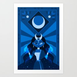 Mayari: The Philippine Moon Goddess Art Print