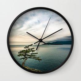 Life on the Edge Wall Clock