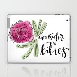 consider the lilies Laptop & iPad Skin