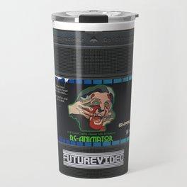 Re-animator custom vhs tape art Travel Mug