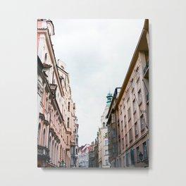 The Sky of Prague Metal Print