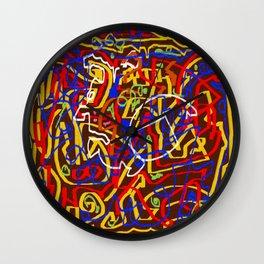 Laberinto 3 Wall Clock