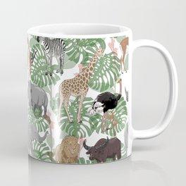 Safari Animals pattern Coffee Mug