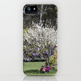 Spring Country Garden iPhone Case