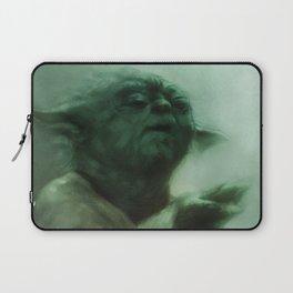 Yoda by SachsIllustration Laptop Sleeve