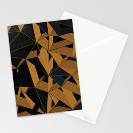 3D Futuristic GEO VI Stationery Cards