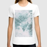 norway T-shirts featuring Norway - Nebula - with triangles! by Andrej Stern