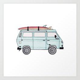 Adventure Mobile Art Print