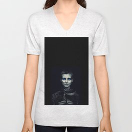 Desert Warrior - Nadja Auermann Unisex V-Neck