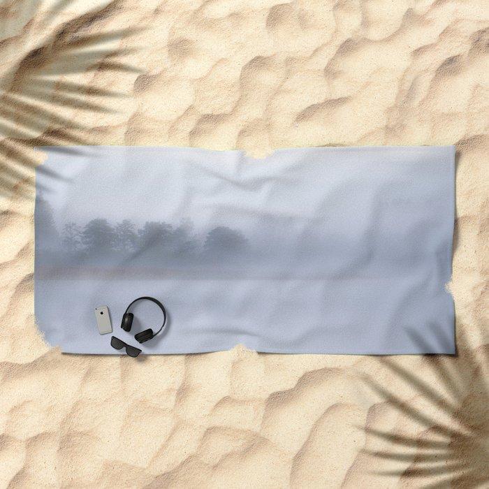 Foggy Morning #decor #buyart #society6 Beach Towel