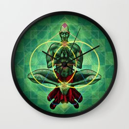 Conscious Enlightement Wall Clock